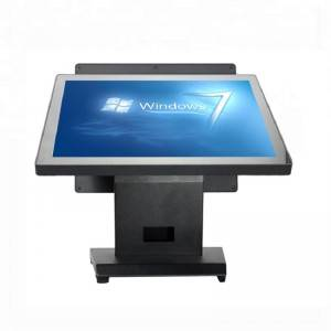 OEM/ODM Factory All In One Pos Android -  High Quality 15inch Capacitive Touch Screen Pos Machine Dual screen POS1515 – Minjie