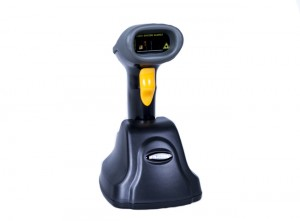1d 433Hz Wireless  Barcode Scanner for Computer and Cellphone MINJCODE MJ2870