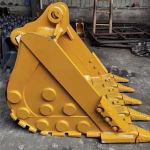 factory customized Komatsu Mini Excavator Buckets - excavator rock bucket – Minyan