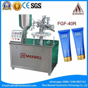 Manufactur standard Plastic Soft Tube Filling - Tube Fill And Seal Machine – Maxwell