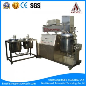 OEM China Fixed Emulsifying Equipment - 100L 200L L  Vacuum Emulsifying Mixer – Maxwell