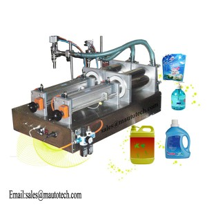 Newly Arrival Yogurt Bottle Filling Sealing Machine - Semi-Automatic Fill Machine – Maxwell