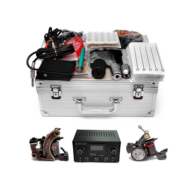 Professional China Professional Tattoo Kits - Professional Tattoo Kit with Good Coil Machines TZ-005    – TATTOO detail pictures