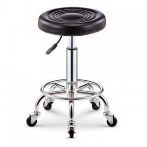 Rotating backrest tattoo stool computer chair beauty salon work stool household lifting round stool bar stool