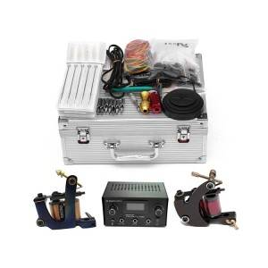 Professional Complete Tattoo Kit with Coil Machines TZ-002