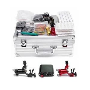 Professional Complete Tattoo Kit with Rotary Machine TZ-001