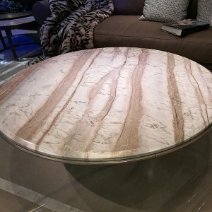 High reputation Big Sand Quartz Stone - Stone table top for dining room table set – Montary