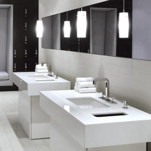 2020 wholesale price Double Sink Countertop - nano glass vanity top – Montary