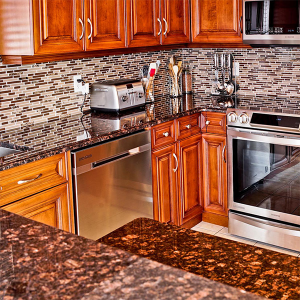 Leading Manufacturer for Calacatta Quartz Countertops - natural granite kitchen countertop – Montary