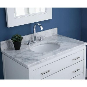 Top Suppliers Calacatta Slab - natural marble vanity top – Montary