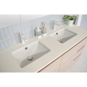 New Arrival China Nano White Glass Stone - quartz vanity top – Montary
