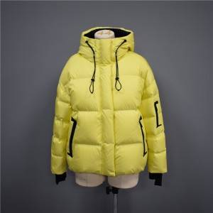 OEM/ODM China Women Fashion Jacket - 2021 Autumn/Winter Hooded Fashion Casual Short Down Jacket, Cotton Jacket-102 – Qinghua Haichuang