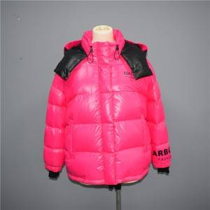 Factory directly supply Womens Puffer Vest - Fall/Winter 2021 Women's Fashion Colorful Short Down Jacket, Cotton Jacket 005 – Qinghua Haichuang