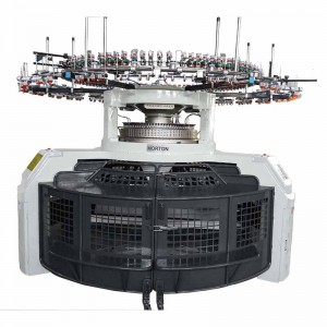 Interlock Open Width Circular Knitting Machine