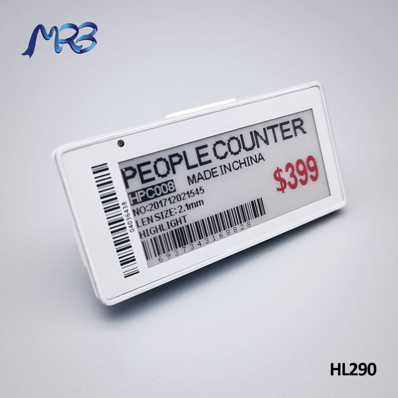 MRB ESL price tag system HL290 Featured Image