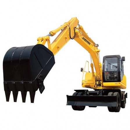 Factory wholesale Vacuum Excavators - HTL150-8 Wheel Excavator – Xuanhua