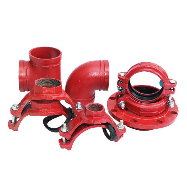 8 Year Exporter Foam Fire Fighting Equipment - Ductile iron grooved pipe fittings and couplings/ joint / clamp/ mechanical tee/ threaded mechanical tee – Metals & Engineering