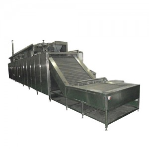MT-201 egg boiling and shelling production line