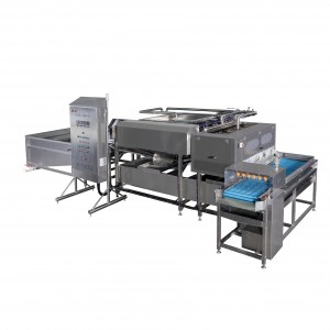 Reasonable price Chicken Egg Peeling Machine - MT-200N Soft-boiled egg peeling machine – Min-Tai