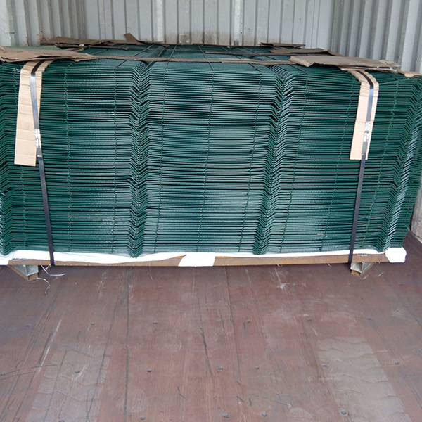 Top Quality Galvanized Steel Panel Fence - Triangular bent Curved Fence – Mujiang