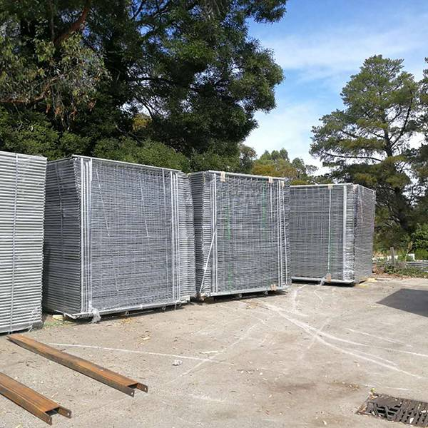 Rapid Delivery for Steel Garden Fence - Temporary Fence – Mujiang