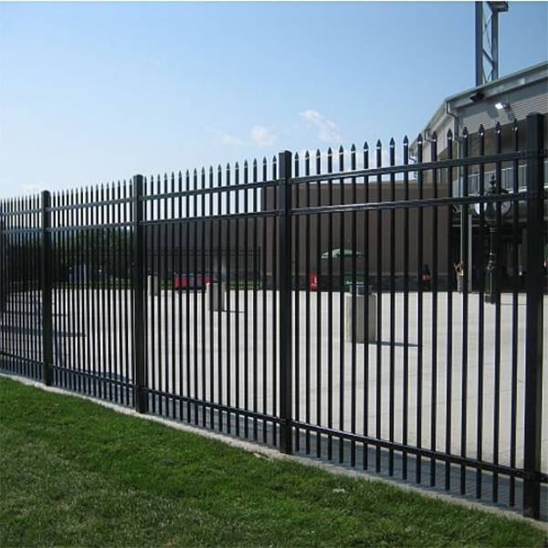 Zinc and Steel Fence Featured Image