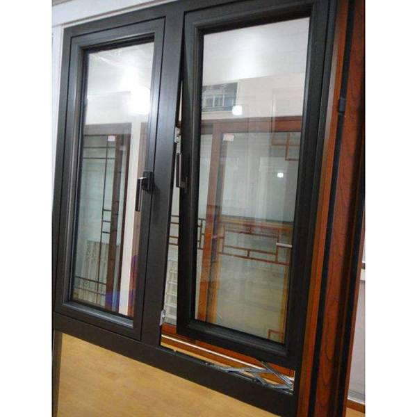 OEM Factory for Glass Window - Broken bridge aluminum window – Mujiang