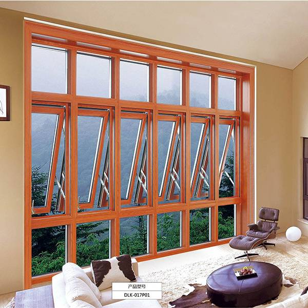 New Fashion Design for Natural Wood Veneered Fire Door - Broken bridge aluminum window – Mujiang