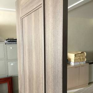 High Performance Solid Pine Exterior Door - CPL door – Mujiang