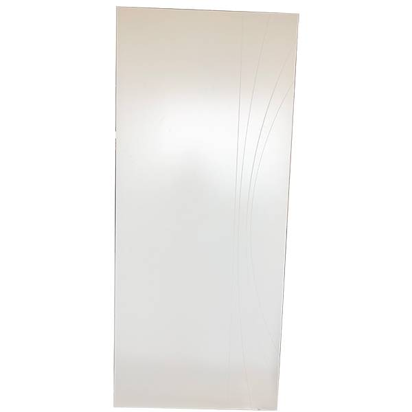 Good Wholesale Vendors Add Glass To Solid Wood Door - Solid color painted door – Mujiang