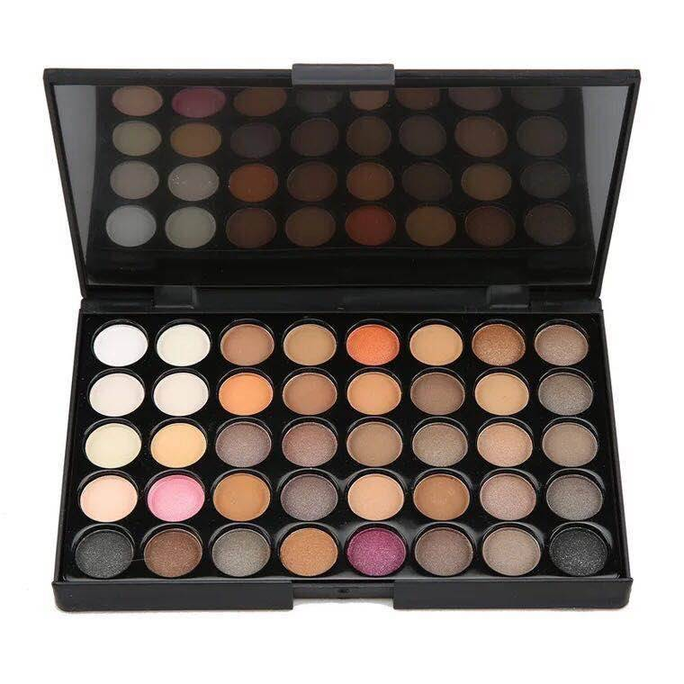 Big Discount Light Eye Makeup - 40 color shadow eyeshadow glitter palette private label – Muran