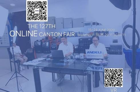 127th Canton Fair Online, ANDELI stand No.: 11.3, B28-29 C10-11