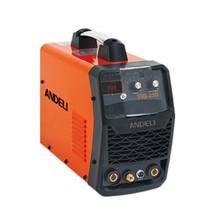 Factory wholesale 220v/440v Tig Welding Machine - TIG-250 Inverter DC TIG/MMA welding machine – Andeli