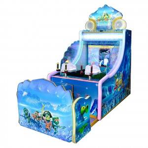 2021 High quality Shooting Water Machine - Coin operated 42 inch shooting water arcade games machine for 2 players – Meiyi
