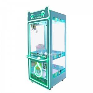 Manufacturer of  Claw Machine Prizes - coin operated claw teddy bear doll game machine manufactor – Meiyi