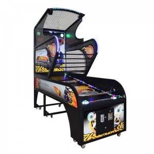 Coin operated arcade game luxury basketball game machine for adults