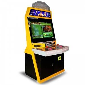 PriceList for Driving Arcade Machine - New arrival 32LCD coin operated arcade games machine for 2 players – Meiyi