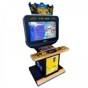 Hot sale coin operated pandora arcade games machine for 2 players