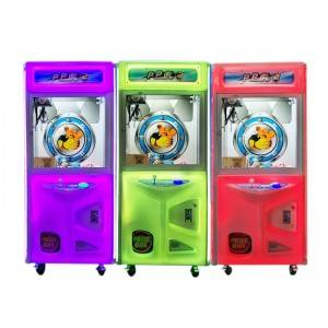 Professional Design Crazy Toy 2 Claw Machine - Coin operated claw crane game machine doll vending machine – Meiyi