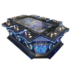 86 inch shooting fish game machine gambling machine for 10 people