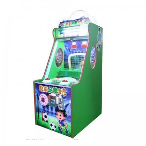 kids coin operated tickets game machine hapyy baby soccer game machine