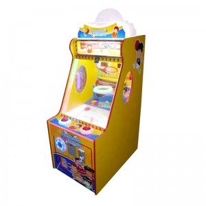 coin operated hapyy baby shooting basketball game machine lottery game machine