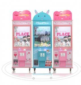 Hot New Products Candy Game Machine - Custom made coin operated toy claw game machine vending prize machine – Meiyi