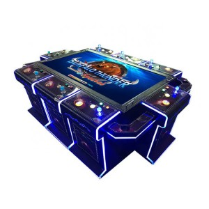 wholesale 86 inch shooting fish game machine for 10 players