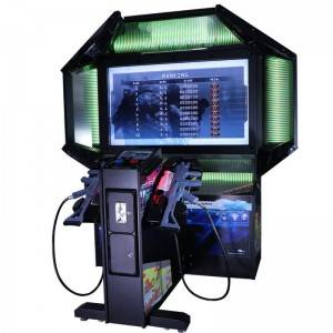 "Coin operated 55 ""lcd Operation Ghost shooting simulator games machine for 2 players"