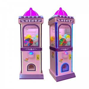 Earn Money Coin Operated Vengding Capsule Toy Game Machine