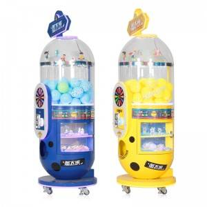 New Arrival Coin Operated Capsule Toy Vending Machine