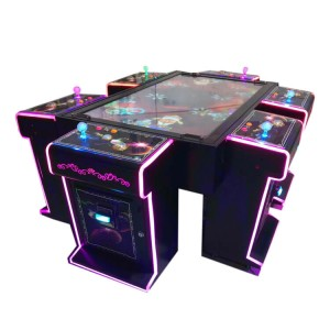 Arcade fish hunter game machine for 6 people gambling game machine