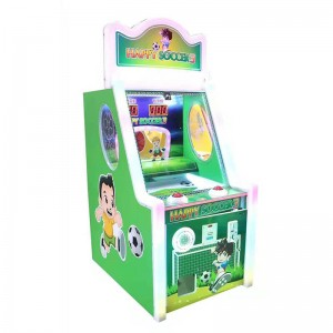 coin operated happy baby soccer game machine lottery game machine