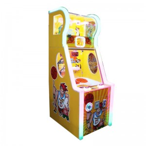 coin operated kids game machine hapyy baby basketball game machine
